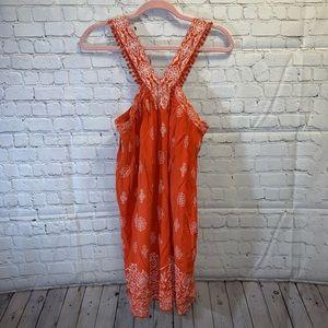LOFT Petites Halter Style Printed Dress, NWT!!